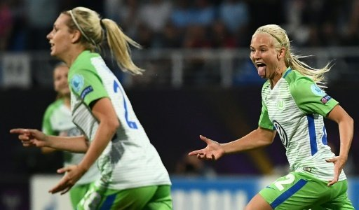 Der VFL Wolfsburg gewinnt in Frankfurt deutlich mit 6:2