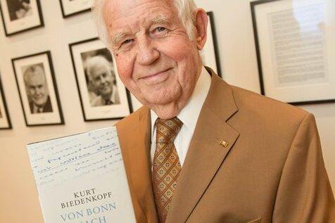 Kurt Biedenkopf, Ex-Ministerpräsident von Sachsen