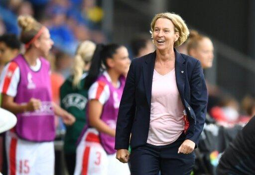 Voss-Tecklenburg will ihren Spielerinnen Mut geben