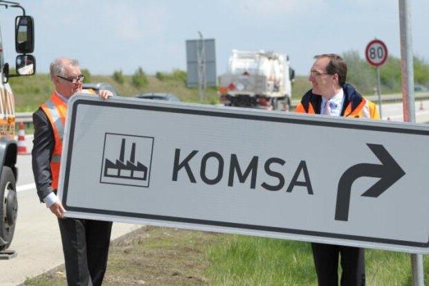 Komsa erhält Deutschen Logistikpreis 2018