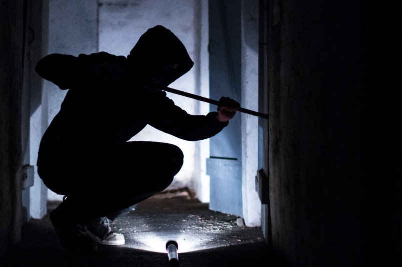 Einbrecher in Flöha: So hat sich Corona auf die Kriminalität ausgewirkt