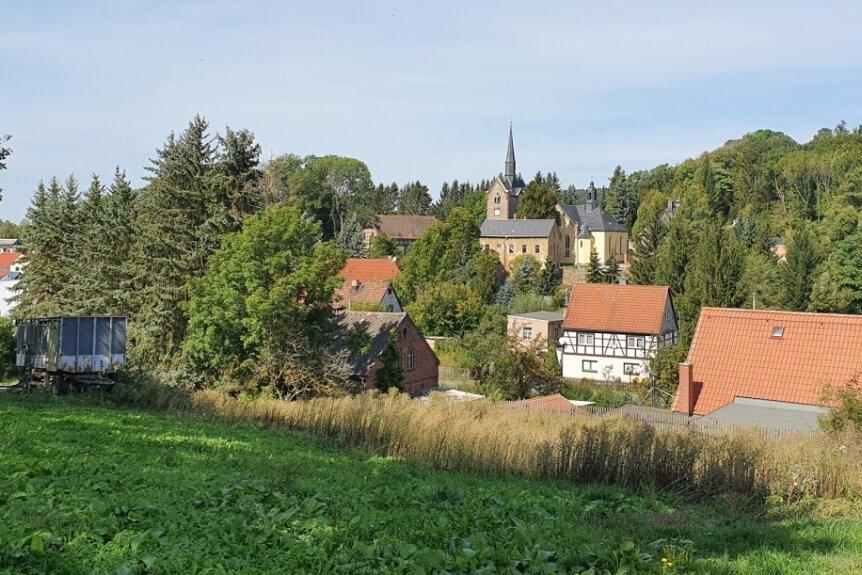 Der Ortsrand von Schönau ist einer von vielen Weitblicken auf der Tour.