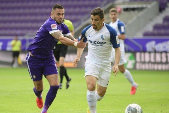 Erzgebirge Aue verliert Heimspiel gegen VfL Bochum nach hitziger Schlussphase mit 1:2