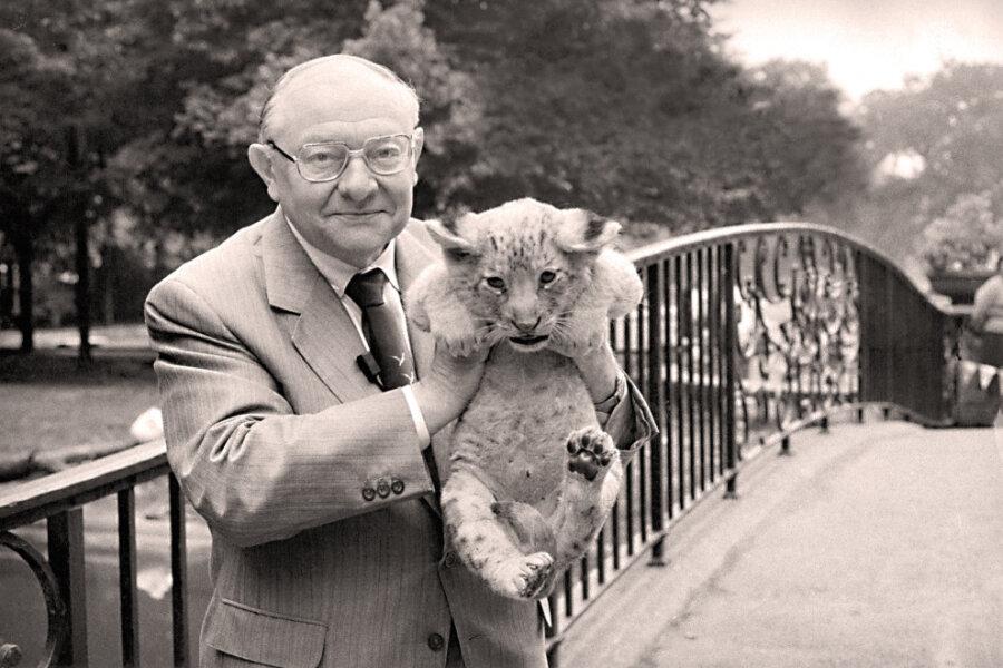 Heinrich Dathe (1910-1991), Begründer und langjähriger Direktor des Tierparks Berlin. Mit seiner Begeisterung für eine grüne Arche Noah mitten in Berlin hat er Zigtausende Menschen angesteckt.