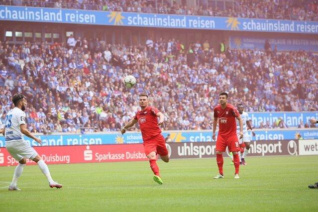 FSV Zwickau beendet Saison nach Niederlage in Duisburg auf Platz fünf