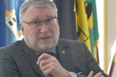 Erneut Corona-Krisenmanager: Landrat Matthias Damm (66).