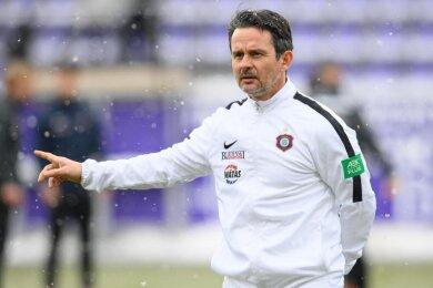 Aues Trainer Dirk Schuster