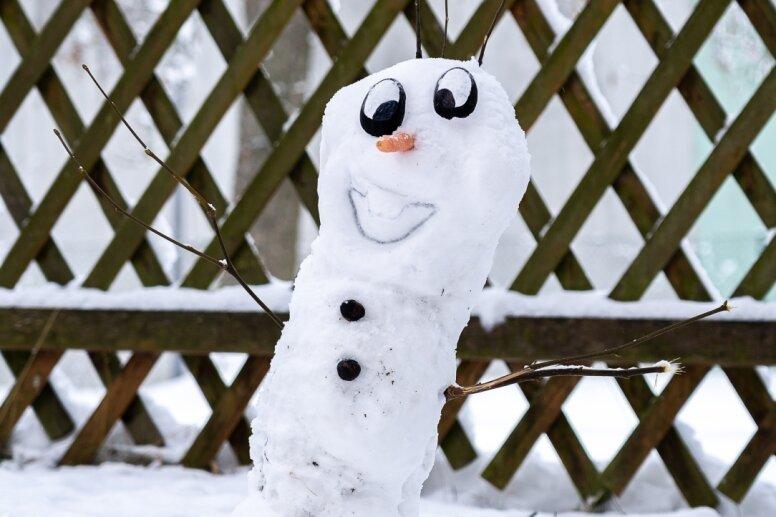 Der kleine Olaf ist der Größte