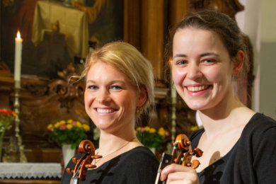 Susanne Steinert (l.) und Johanna Weidner.