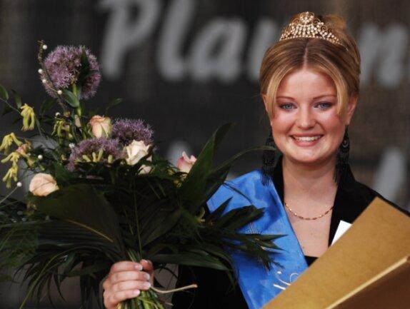 Sophie Gürtler, damals 24, bei der Wahl zur sechsten Spitzenprinzessin - im Juni 2007.