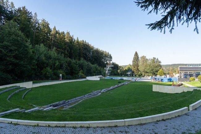 """""""Wie die Faust aufs Auge"""" passt ein Bundes-Förderprogramm für die Sanierung des Waldbades Brunn, meint CDU-Fraktionschef Joachim Otto in Auerbach. Um die Finanzierung des Projektes geht es am Montag bei einer Sondersitzung des Stadtrates."""