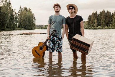 Leander Gronem (li.) und Christian Nestler nennen sich Leander und der Andere. Ihr neues Album hat etwas von Abschied.