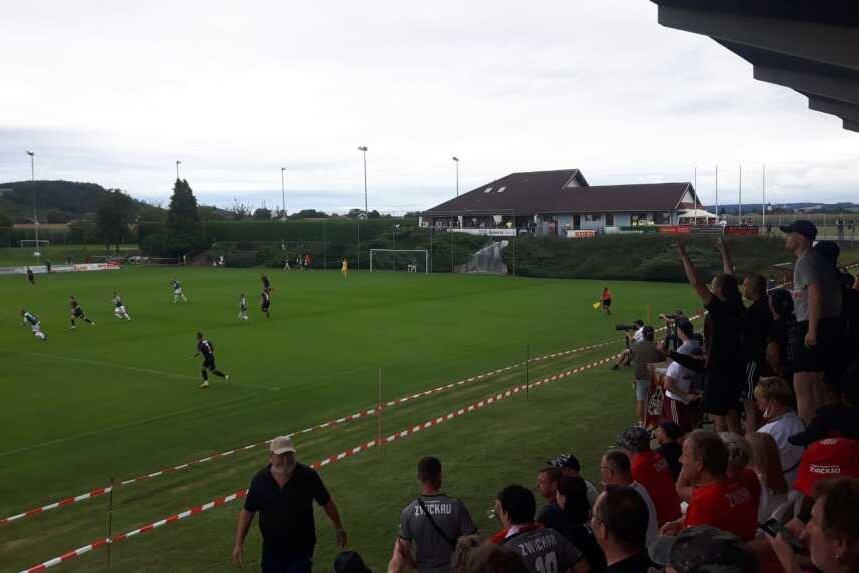 FSV Zwickau mit Unentschieden gegen Erstliga-Aufsteiger