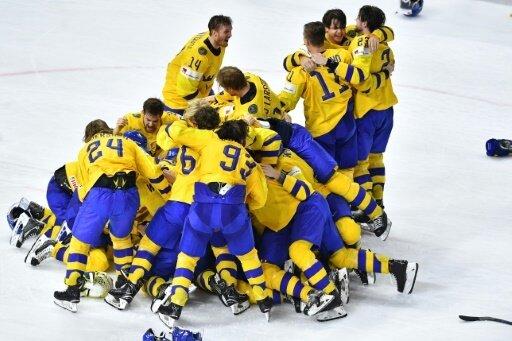 Schweden feiert elften WM-Titel im Eishockey