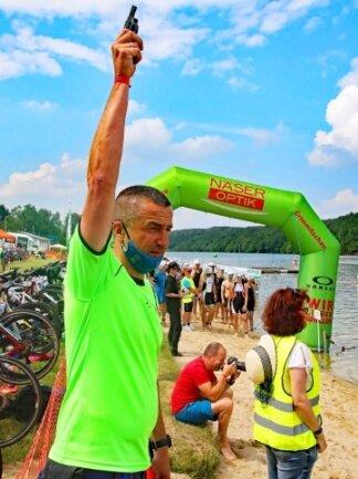 Organisationsleiter Ronny Enke konnte mehr als 400 Starter auf die Strecken schicken.