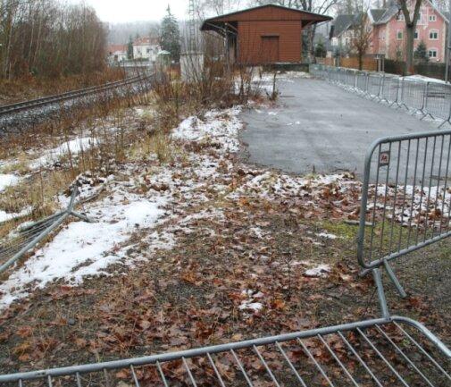 Am Bahnhofsgelände in Braunsdorf würde sich der Ortsvorsteher mehr Ordnung wünschen.