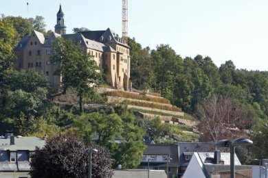Auch unterhalb des Schlosses soll investiert werden.