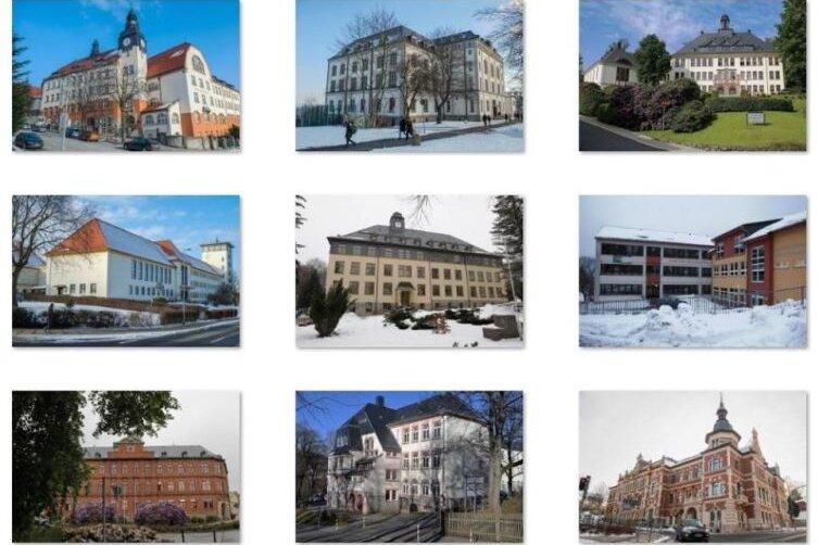 Die weiterführenden Schulen im Altkreis Aue/Schwarzenberg im Vergleich