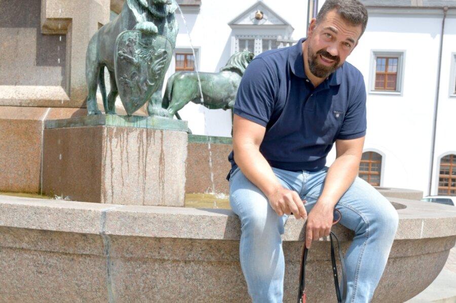 Sergio Raonic Lukovic - hier im Juni auf dem Ottobrunnen in Freiberg - wird ab August 2022 Intendant.