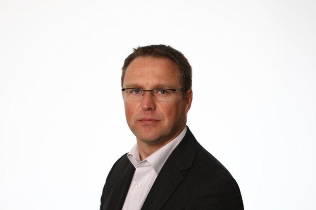 """Torsten Kleditzsch, Chefredakteur """"Freie Presse""""."""