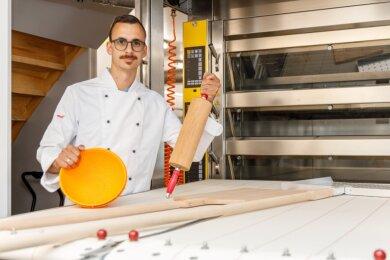 Philipp Einenkel eröffnet in Wiesa seine eigene Bäckerei. Er stammt aus Wiesa und kehrt nun in seine Heimat zurück.