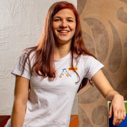 Katja Wittig ist die zweitbeste Malergesellin Deutschlands.