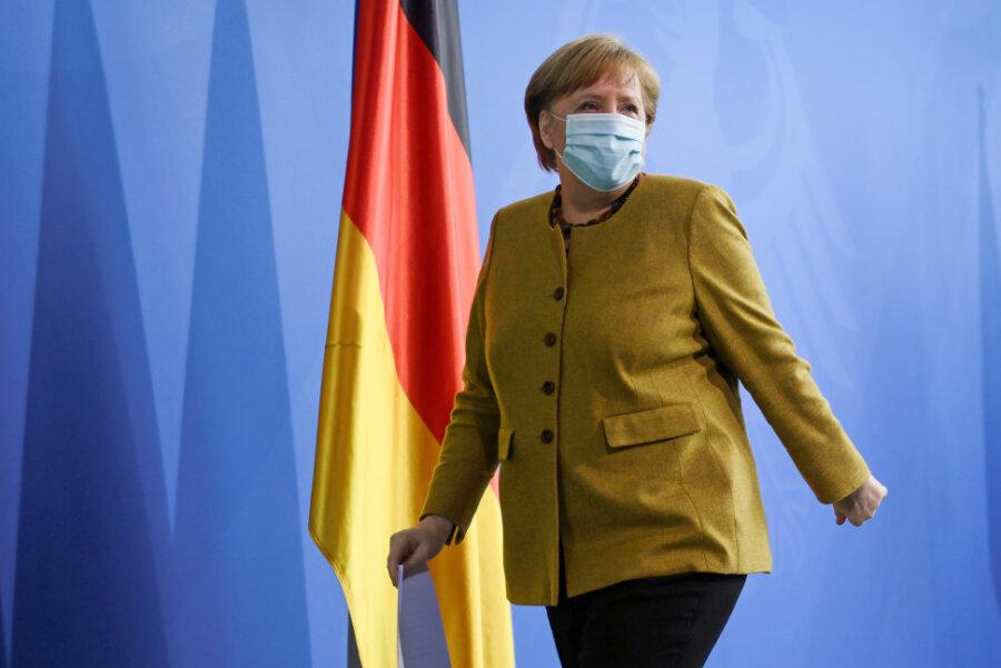 Angela Merkel (CDU) tritt nach vier Amtsperioden nicht wieder an.