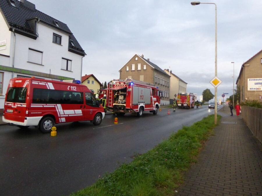 Zwickau: Kellerbrand durch Kreissäge