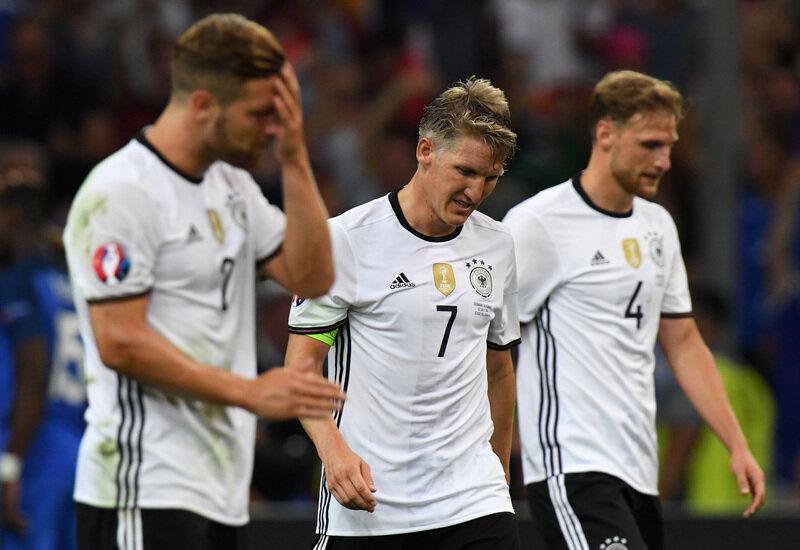 0:2 gegen Frankreich - Deutschland bei Fußball-EM ausgeschieden
