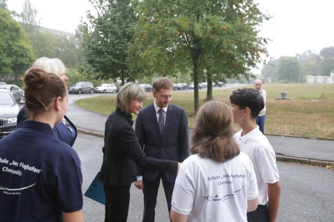 Mit dabei war auch die Chemnitzer Oberbürgermeisterin Barbara Ludwig.