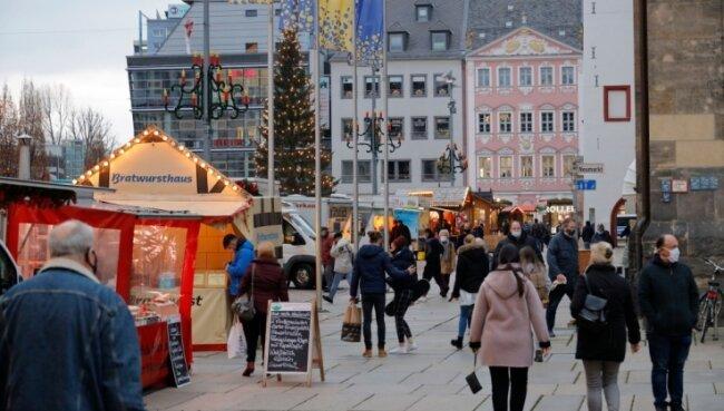 Weihnachtseinkäufe an Sonntagen sollen in diesem Jahr ausschließlich in der Innenstadt möglich sein.