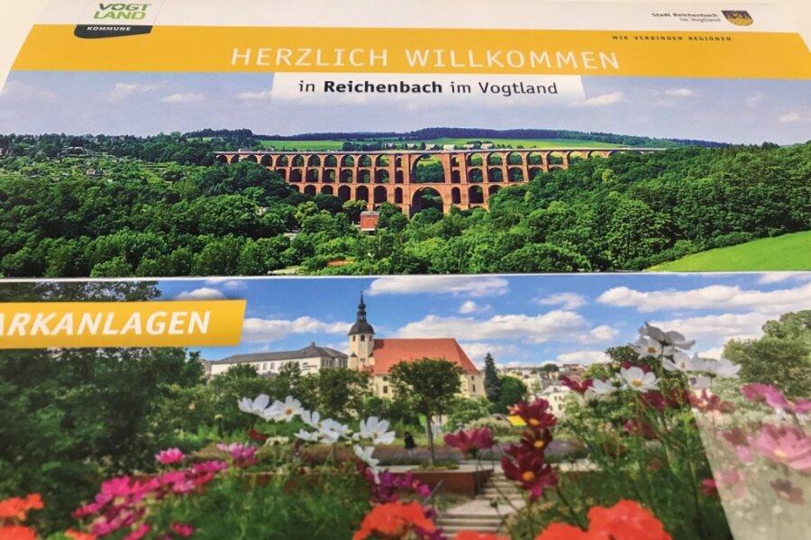 Der druckfrische Flyer für alle Bürger, die ab dem kommenden Jahr nach Reichenbach ziehen.