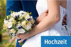 Grüße und Glückwünsche zur Hochzeit