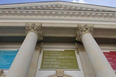 Das Vogtlandtheater in Plauen