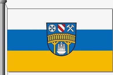 Die neue Flagge.