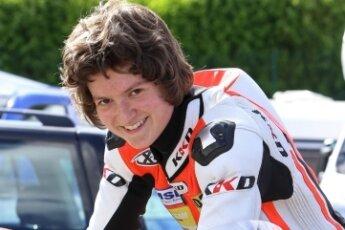 Marie Mende aus Gersdorf liebt die Geschwindigkeit.