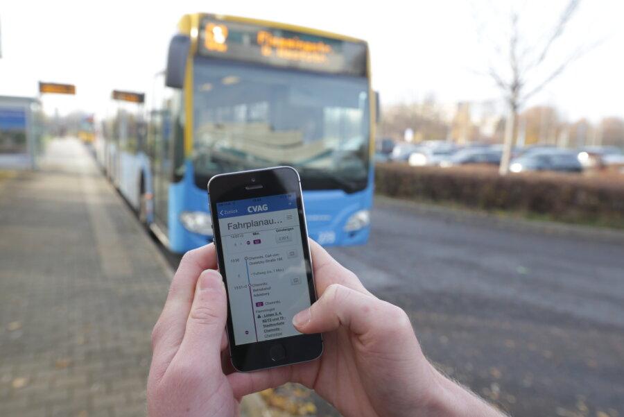Chemnitzer Verkehrs-AG startet eigene App