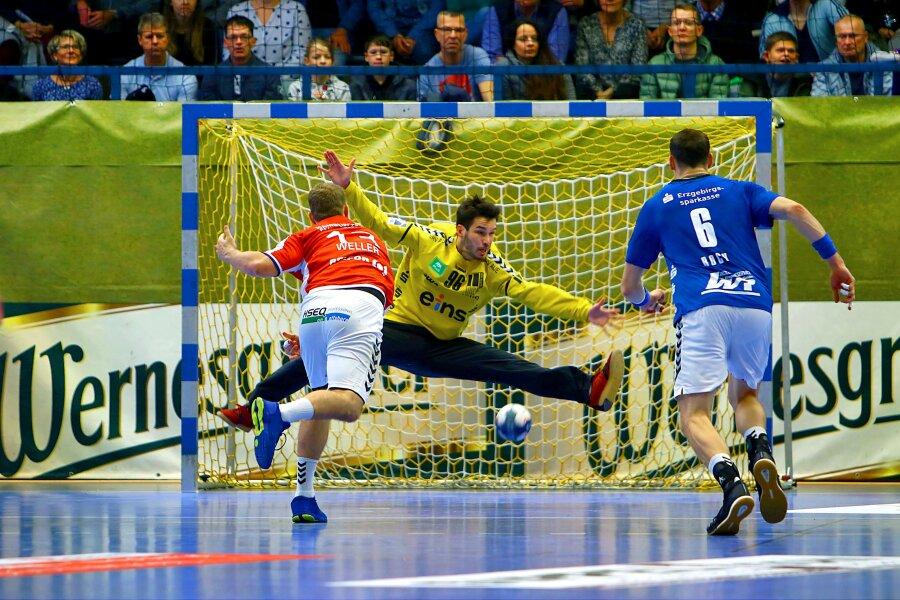 Der EHV Aue hat am Samstag sein Heimspiel gegen HSV Hamburg gewonnen.