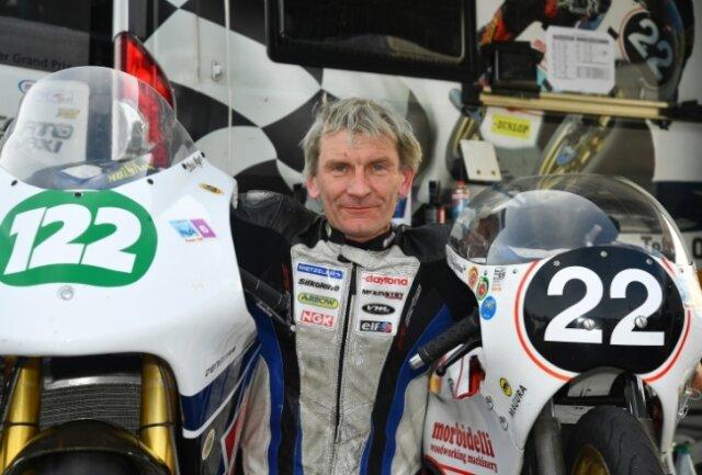 Chris Meyer war in Cookstown gleich mit mehreren Maschinen an den Start gegangen. Das hat ihm dabei geholfen, die Tücken der Strecke besser kennenzulernen.