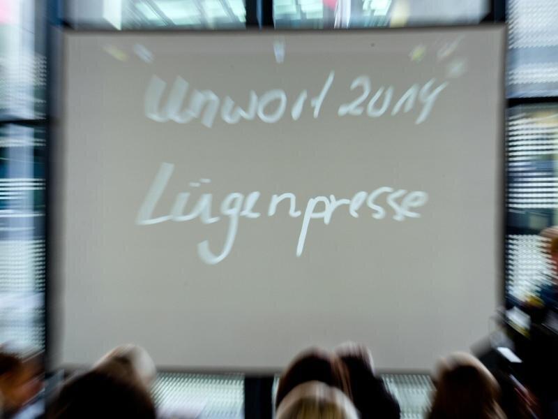 «Lügenpresse» ist das «Unwort des Jahres 2014».