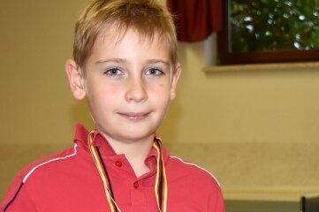 Tischtennis-Talent: Ben Gränitz vom TTV Tanneberg.