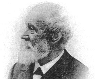 Firmengründer Johann Georg Adler.
