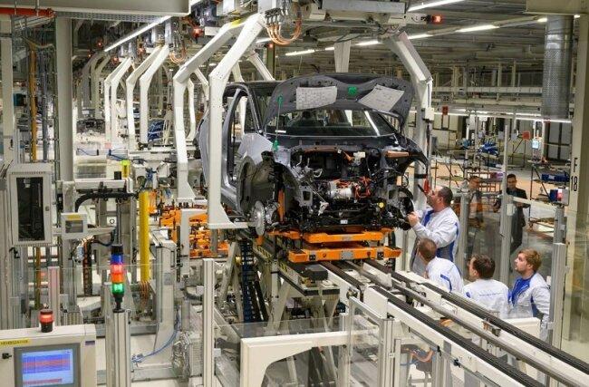 Im VW-Werk in Zwickau wird bereits der ID.3 produziert.