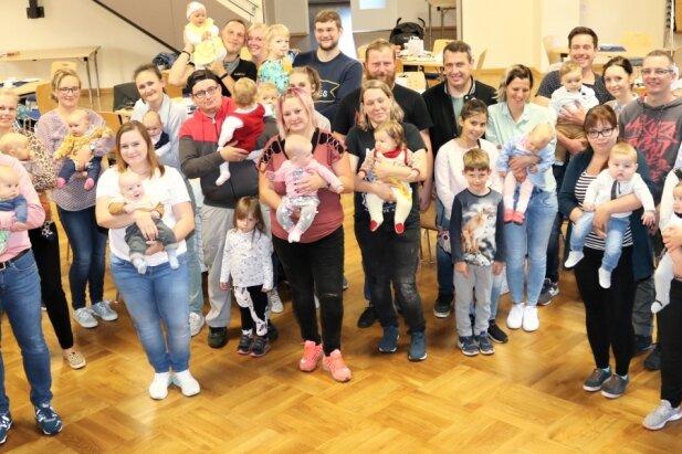 Das medizinisch-kulturelle Zentrum Lindenhof Leubsdorf war fest in der Hand der jüngsten Einwohner.