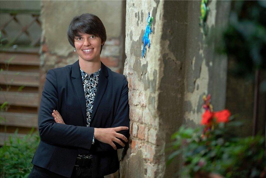 """""""Ein Gefühl, etwas Gutes zu tun"""": Joyce Perlitz will Jugendliche in ihren Krisen auffangen."""