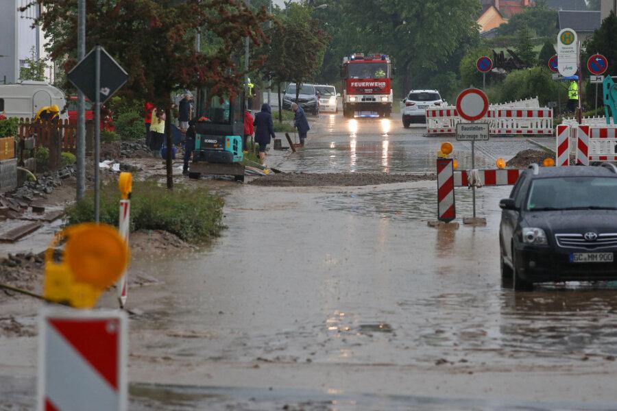 Unwetterschäden: Verkehrsfreigabe wird verschoben