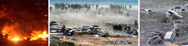 Verheerendes Erdbeben und Tsunami in Japan
