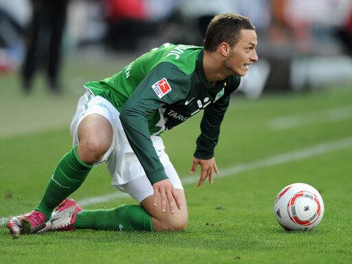 Marko Arnautovic glich in der 80. Minute für Werder Bremen aus