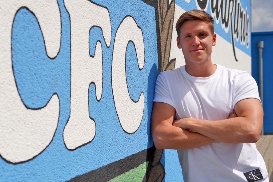Lukas Aigner unterstützt ab sofort den CFC.