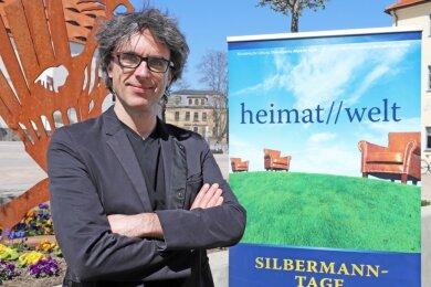 Albrecht Koch, Präsident der Gottfried-Silbermann-Gesellschaft, präsentiert die 24. Silbermanntage, deren Künstlerischer Leiter er auch ist.